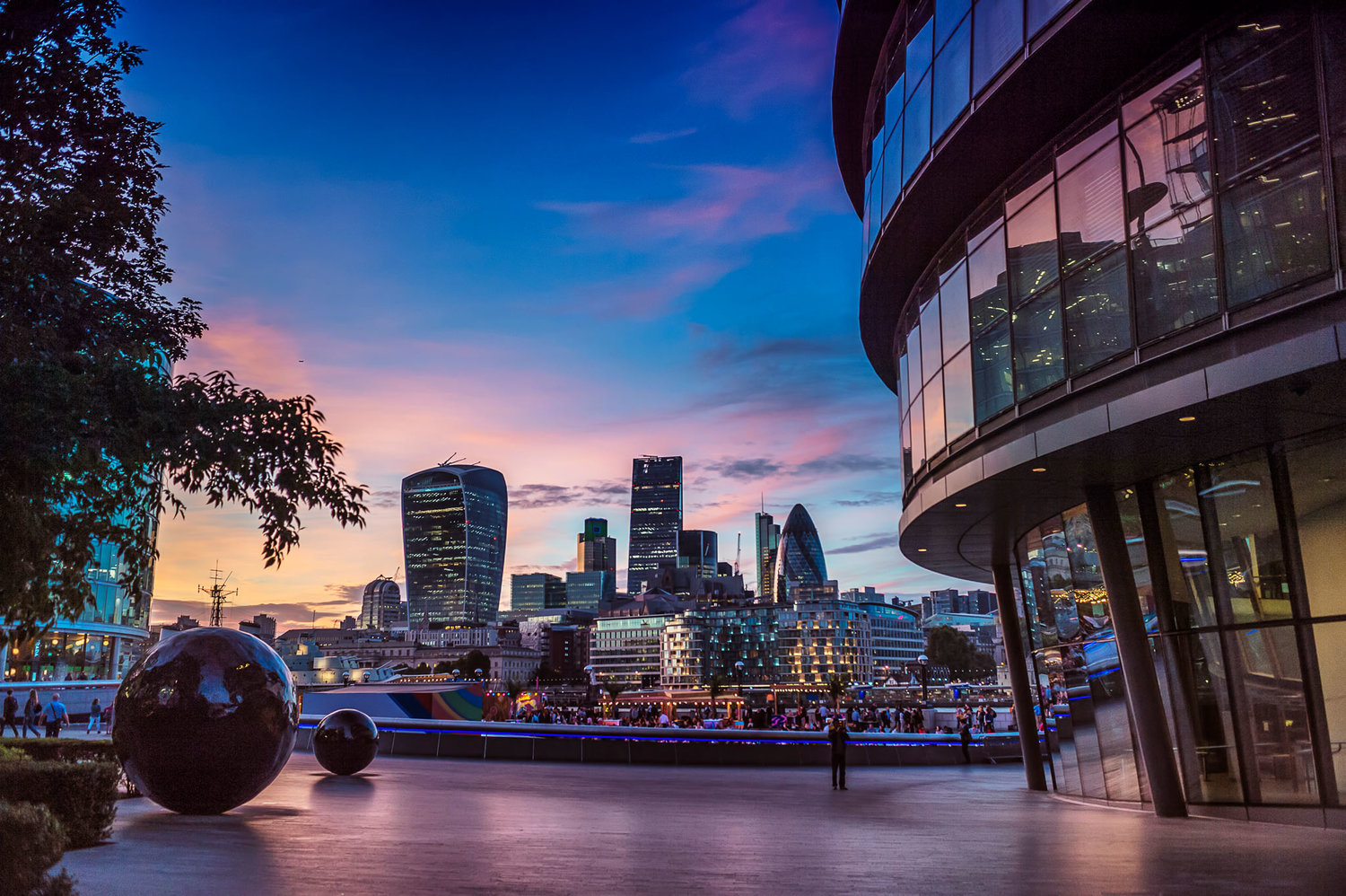 City of London from City Hall city London photography by IMMERSED 360